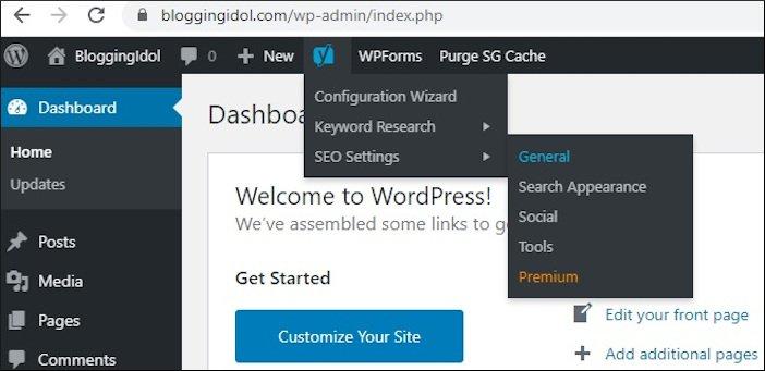 How to create XML Sitemap in WordPress using Yoast