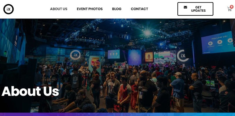 orlandoix website using astra pro