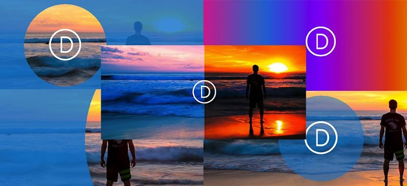 Divi backgrounds and parallax effects