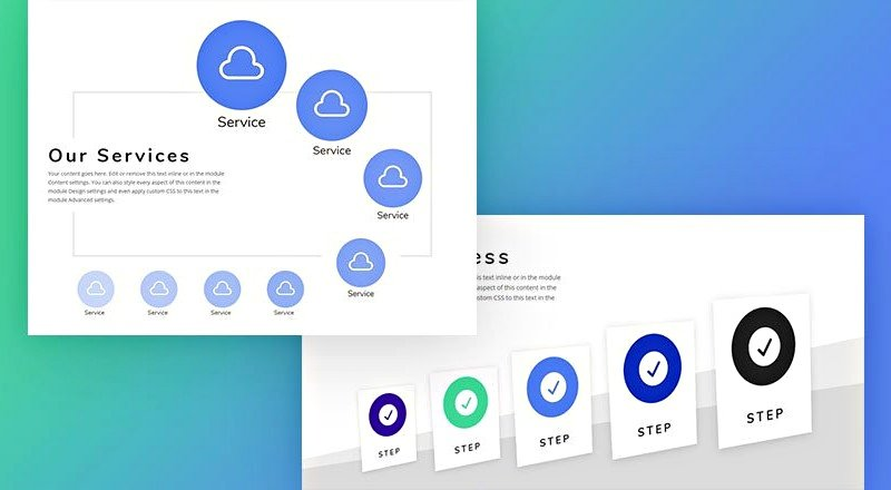 using Divi transformation to create great SVG graphics tranformation