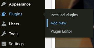 add new plugins in wordpress website