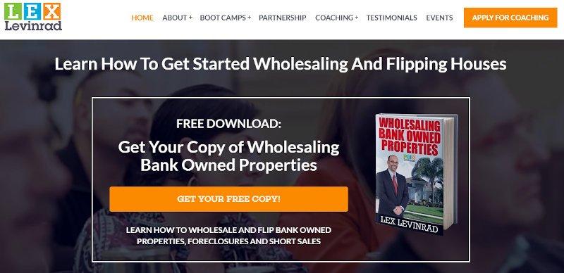 lex levinrad real estate affiliate programs