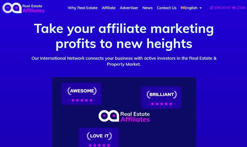 real estate affiliates official website