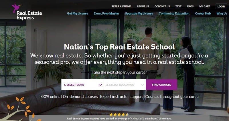 real estate express official website