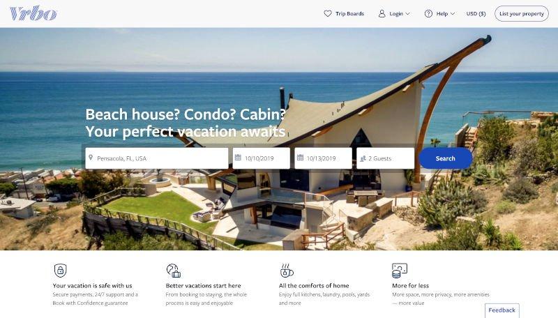 vrbo real estate official website