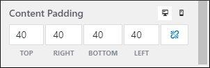 GeneratePress premium spacing Content Padding