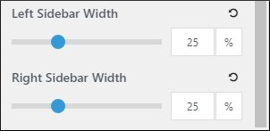 Left and Right Sidebar width in GeneratePress premium theme