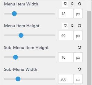 Primary Navigation Menu Item Height & Width in GP Premium