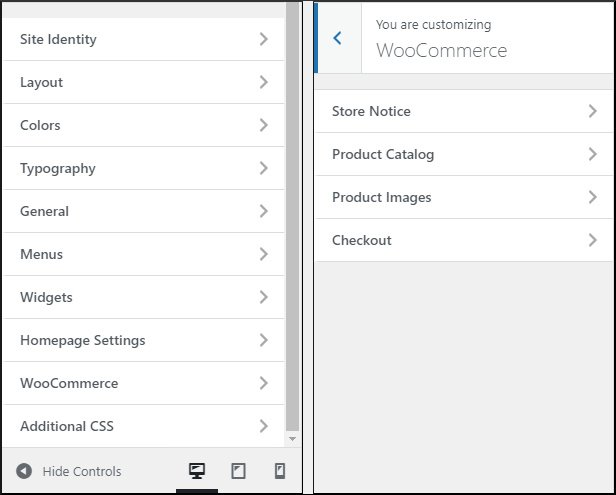 WooCommerce module within GeneratePress premium
