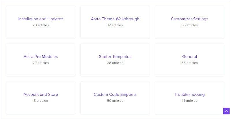 astra theme documentation