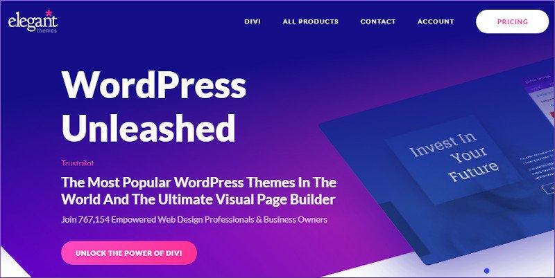 dive wordpress theme and page builder - WYSIWYG generatepress alternative